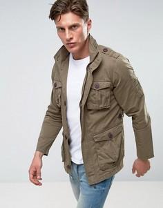 Куртка с 4 карманами Brave Soul - Зеленый