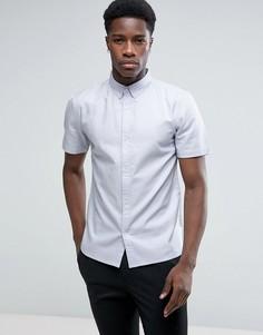 Базовая рубашка-оксфорд D-Struct - Синий