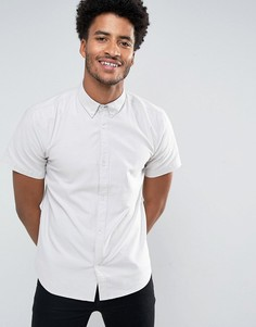 Базовая рубашка-оксфорд D-Struct - Серый