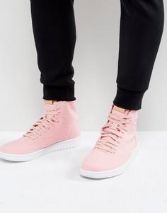 Розовые высокие кроссовки Nike Air Jordan 1 Retro Decon 867338-620 - Розовый