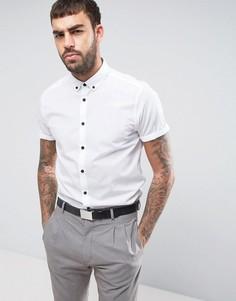 Белая классическая рубашка с воротником на пуговицах ASOS - Белый