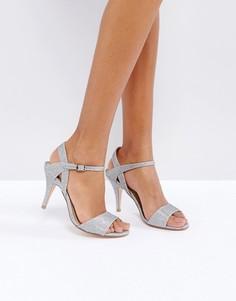 Туфли с отделкой серебристыми блестками Coast - Серебряный