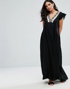 Платье макси Raga Moonlit Dance - Черный