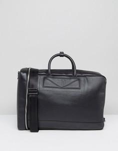 Кожаная сумка-рюкзак Diesel - Черный