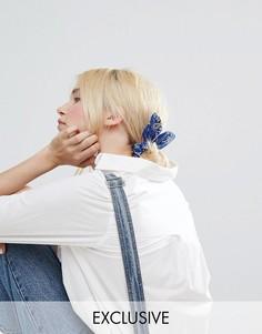 Бандана-резинка для волос Monki - Синий