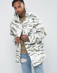 Камуфляжная куртка карго Maharishi - Зеленый