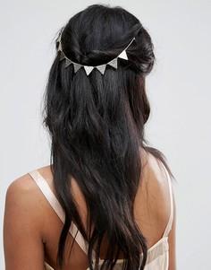 Украшение для волос с подвесками ASOS - Золотой