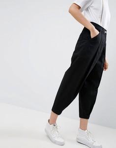 Выбеленные черные джинсы в винтажном стиле ASOS WHITE - Черный