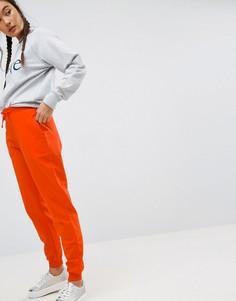 Джоггеры с завязкой ASOS - Оранжевый