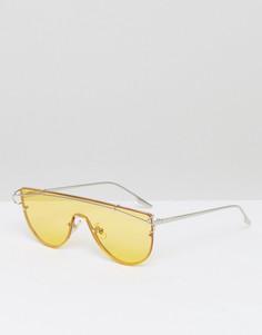 Солнцезащитные очки-маска с желтыми затемненными стеклами Jeepers Peepers - Желтый