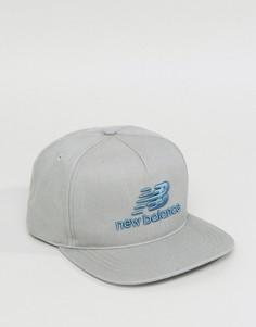 5-панельная кепка New Balance - Белый
