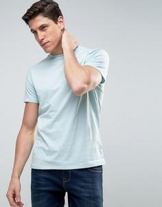 Меланжевая футболка с карманом Threadbare - Синий