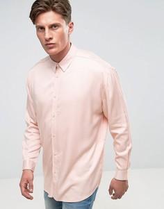 Oversize-рубашка из вискозы Another Influence - Розовый