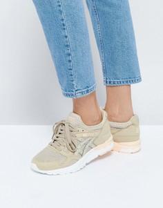 Бежевые сетчатые кроссовки Asics Gel-Lyte V - Бежевый