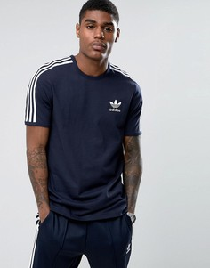 Синяя футболка adidas Originals London Pack Graphic BK7762 - Синий