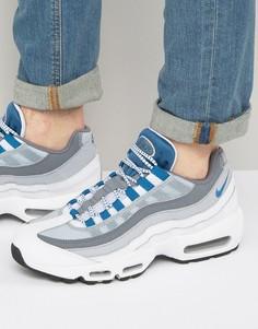 Серые кроссовки Nike Air Max 95 749766-102 - Серый