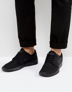Черные кроссовки Nike SB Stefan Janoski Max 631303-007 - Черный