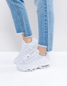 Белые кроссовки Nike Air Max 95 Essential - Белый