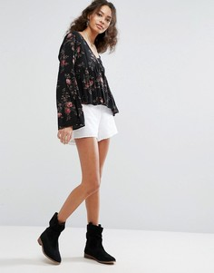 Шорты Free People Cheeky - Белый