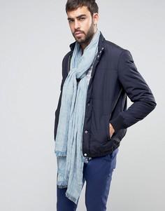 Легкий голубой шарф ASOS - Синий