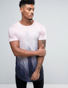 Розовая обтягивающая футболка Illusive London - Розовый