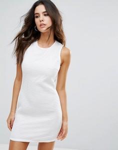Фактурное платье Little White Lies - Белый
