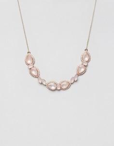 Броское ожерелье с крупным камнем Johnny Loves Rosie - Золотой