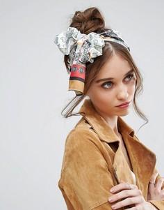 Головной платок в стиле пэтчворк с принтом пейсли ASOS - Мульти