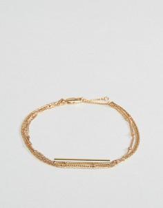 Набор браслетов Pieces - Золотой