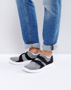 Черные кеды-слипоны Nike - Черный