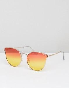 Солнцезащитные очки Quay Australia All My Love - Оранжевый