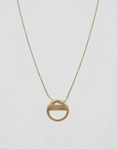 Позолоченное ожерелье Pilgrim Eclipse - Золотой