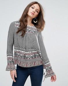 Блузка с принтом Vero Moda - Мульти