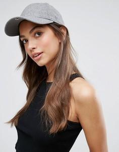 Классическая кепка New Era 9Forty - Серый
