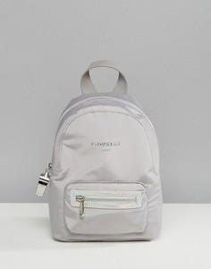 Миниатюрный нейлоновый рюкзак серого цвета Fiorelli Sport Strike - Серый