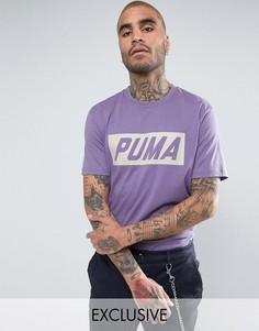Фиолетовая футболка в винтажном стиле Puma Speed эксклюзивно для ASOS - Фиолетовый