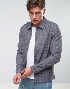 Куртка в клетку Another Influence - Серый
