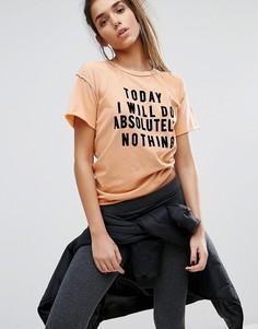 Трикотажная футболка с принтом Juicy By Juicy Couture - Розовый