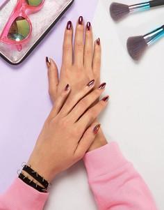 Накладные ногти хроматической расцветки Lime Crime - Black Magic - Мульти