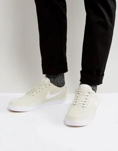Бежевые кроссовки Nike SB Check Solar 843895-010 - Бежевый