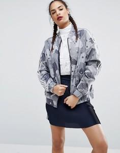 Бомбер с камуфляжным принтом Аdidas Originals Regista - Мульти Adidas