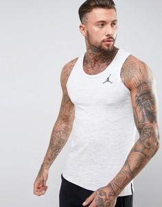 Серая меланжевая майка Nike Jordan All-Star 789625-052 - Белый