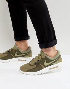 Зеленые дышащие кроссовки Nike Air Max Zero 903892-200 - Зеленый