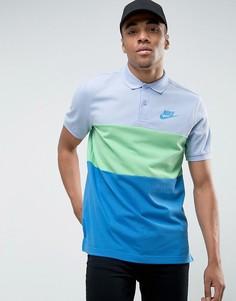 Синяя футболка-поло Nike Matchup 847646-450 - Синий
