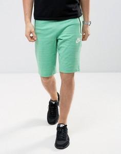 Зеленые трикотажные шорты Nike 837014-351 - Зеленый