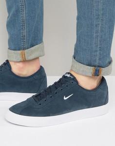 Темно-синие премиум-кроссовки Nike 844611-403 - Темно-синий