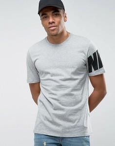 Серая футболка Nike 847605-063 - Серый
