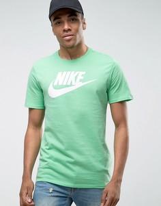 Зеленая футболка с логотипом Nike Futura 696707-352 - Зеленый
