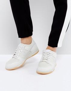 Бежевые кроссовки Nike Dunk Low - Кремовый