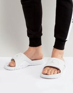 Белые шлепанцы Nike Jordan 532225-100 - Белый